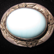 Sterling Silver and Turquoise Pendant/Brooch
