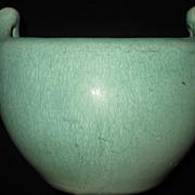 Weller Matte Green Arts & Crafts Vase