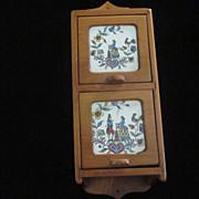 Spiceramic Pine Colonial Spice Box
