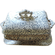 English Transferware Tureen Set, Daimio, 1855