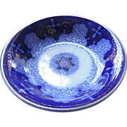 "Flow Blue Persian Moss 5"" Fruit Bowls, 7 Pieces"