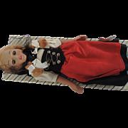 EMA Swiss Maiden Costume Doll, Original Box