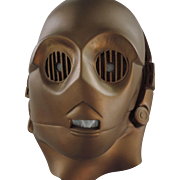 SOLD C-3PO Vinyl Head/Mask, 20th Century Fox, 1977
