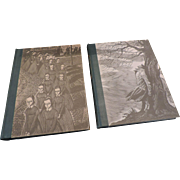 Bronte Sisters, Wuthering Heights, Jane Eyre Boxed Set, Random House, 1943, Eichenberg Engravi