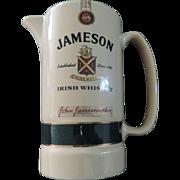 Jameson Irish Whiskey Water Pitcher, Eastgate Pottery