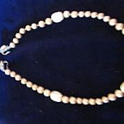 Judith McCann Faux Pearl Necklace