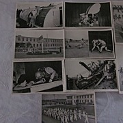 US Navy Seabees Postcards, Camp Endicott, Set of 9
