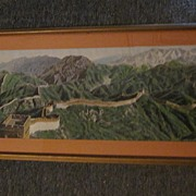 Chinese Tapestry of The Great Wall