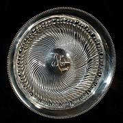 "Sterling bowl 8 1/4"" by Meriden"