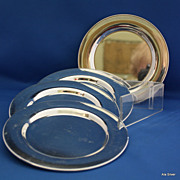 Bread & Butter plates in several designs in silver plate