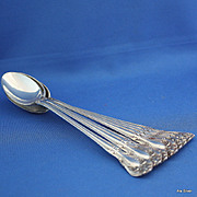 SALE Chateau Rose iced tea spoon in solid sterling silver by Alvin