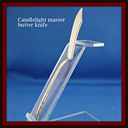 REDUCED Candlelight master butter knife in solid sterling by Towle