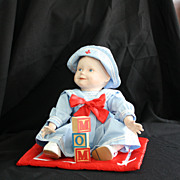 "REDUCED Doll:""Amanda"" of the Yolanda's Picture-Perfect Babies Collection"