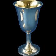 Sterling goblet by International #P664