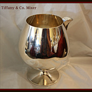 SALE Tiffany & Co sterling silver mixer