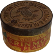 SALE Erinmore Flake Tobacco Tin with Paper Label