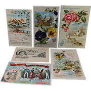 6 New Home Sewing Machine Co Advertising Cards