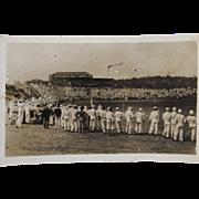 RPPC Baseball in Panama Real Photo Postcard