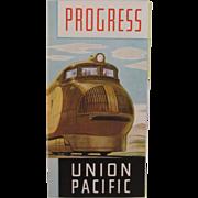 SOLD 1933 Chicago World's Fair Union Pacific Train Railroad Brochure