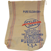 Myles Preferred Salt Cotton Bag - New Orleans 25 Pounds