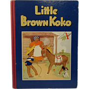 1940 Little Brown Koko Book - Black Americana - Illustrated