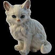Vintage Lefton China Persian Cat Figurine