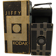Jiffy Kodak Six-16 Camera in Original Box