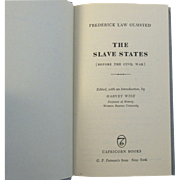 SOLD The Slave States by Frederick Law Olmsted 1959