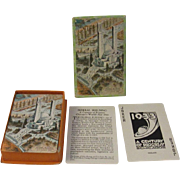 SOLD 1933 Chicago World's Fair Federal Building Century of Progress Playing Cards - Red Tag Sa