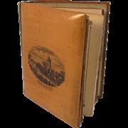 Victorian Scottish Mauchline Robert Burns Miniature Book Dated 1893