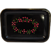 Vintage Painted Tole Tray