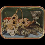 Vintage Kitty Cat English Sharp's Toffee Tin
