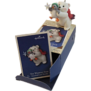 SOLD Hallmark Keepsake Ornament - The Wishing Star Snowball and Tuxedo 2002
