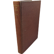 The War of 1812 by Henry Adams 1944 First Edition