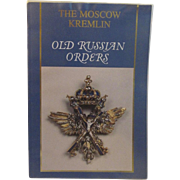 Old Russian Orders Book from the Armory Collection in Moscow