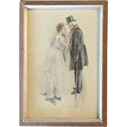 Howard Chandler Christy Art Print circa 1900's