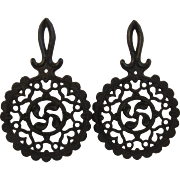 John Zimmerman Harner Cast Iron Hearts Trivets Pair