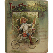 In Storyland Victorian Chromolithograph Illustrated Children's Book