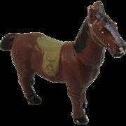 Vintage Cast Metal Horse Figurine