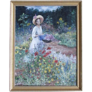 Original Oil Painting signed McCurdy