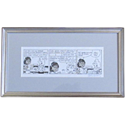 Original Pen and Ink Luann Comic Strip