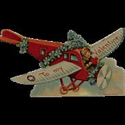 German Mechanical Airplane Valentine