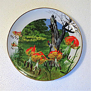 SALE Regal Lily Wildflowers of the South Limited Edition Collector Plate