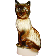 Jim Beam Burmese Siamese Cat Whiskey Decanter