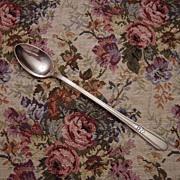 Wm Rogers Silverplate Memory Iced Tea Spoon
