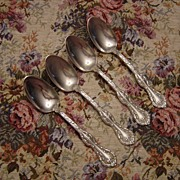 Paragon Silverplate Royal Oak Teaspoons