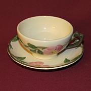 Franciscan Desert Rose Teacup and Saucer