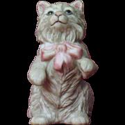 Franklin Mint Cybis Curio Cabinet Cat