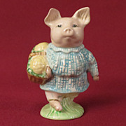 Beswick Beatrix Potter Little Pig Robinson Figurine