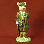 Beswick Gentleman Pig Figurine